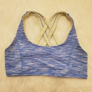 Ivivva Cross Back Reversible Vitality Sports Bra